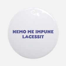 Nemo Me Impune Lacessit Keepsake / Remembrance