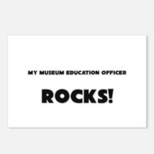 MY Museum Education Officer ROCKS! Postcards (Pack