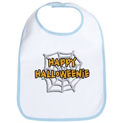 Happy Halloweenie Bib
