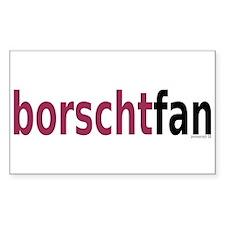 BorschtFan Decal