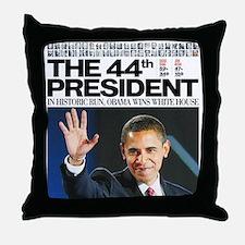 Obama: The 44th President Throw Pillow