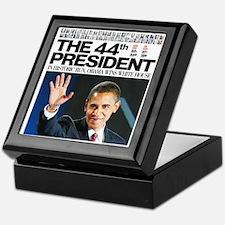 Obama: The 44th President Keepsake Box