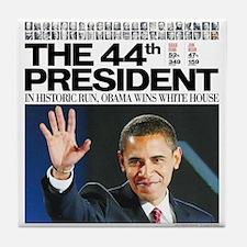 Obama: The 44th President Tile Coaster