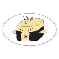 Punk Tofu Oval Decal