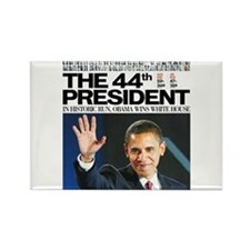 Obama: The 44th President Rectangle Magnet