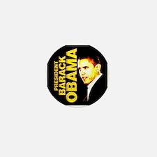 President Obama Mini Button