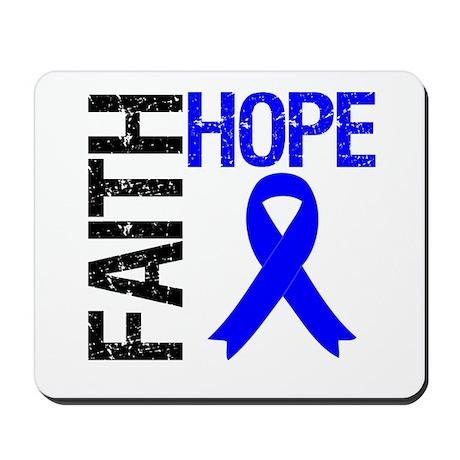 Faith Hope Colon Cancer Mousepad