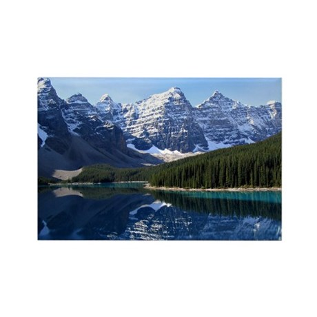 Moraine Majesty Rectangle Magnet