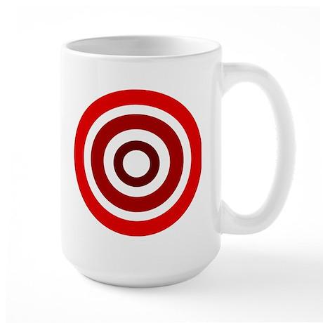 Red Circles Large Mug