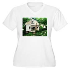 Old House Watercolor T-Shirt