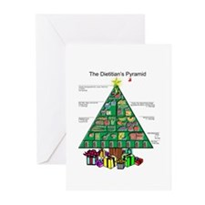 Dietitian Christmas Greeting Cards (Pk of 10)