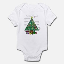 Dietitian Christmas Infant Bodysuit