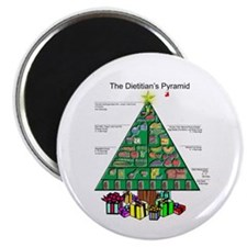 "Dietitian Christmas 2.25"" Magnet (10 pack)"