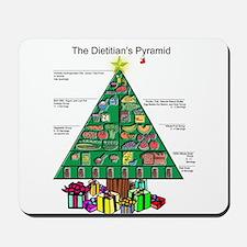 Dietitian Christmas Mousepad