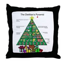Dietitian Christmas Throw Pillow