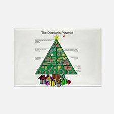 Dietitian Christmas Rectangle Magnet