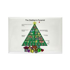 Dietitian Christmas Rectangle Magnet (100 pack)