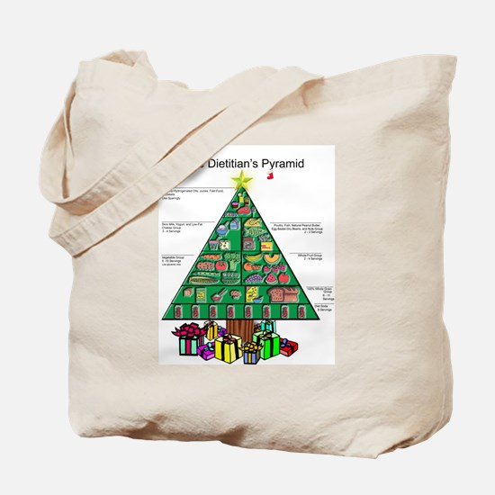 Dietitian Christmas Tote Bag