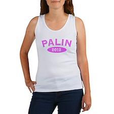 Palin 2012 Pink Arc Women's Tank Top