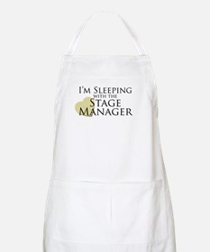 Sleeping with the Stage Manager BBQ Apron