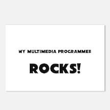 MY Multimedia Programmer ROCKS! Postcards (Package