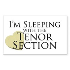 Sleeping with the Tenor Section Decal