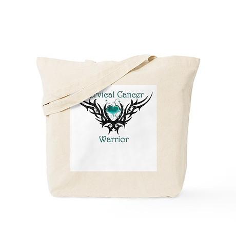Cervical Warrior Tote Bag