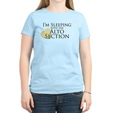 Sleeping with the Alto Section T-Shirt