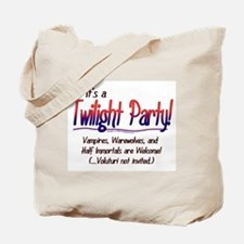 Twilight Party Tote Bag