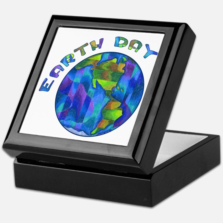 Earth Day Keepsake Box