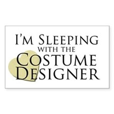 Sleeping with the Costume Designer Decal