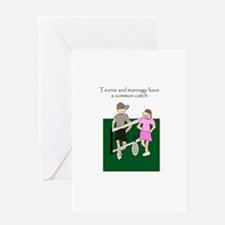 Anniversary card for tennis lovers