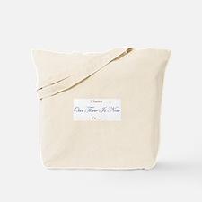 Unique Obama inaguration Tote Bag