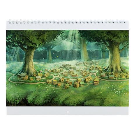 Gnomes & Trolls Wall Calendar