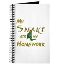 My Snake Ate My Homework Notebook