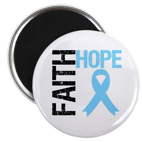 Hope Faith Prostate Cancer Magnet