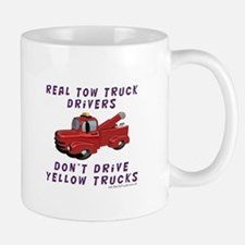 Red Tow Truck Gifts Mug