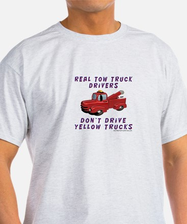 Red Tow Truck Gifts T-Shirt
