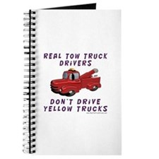 Red Tow Truck Gifts Journal