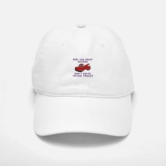 Red Tow Truck Gifts Baseball Baseball Cap