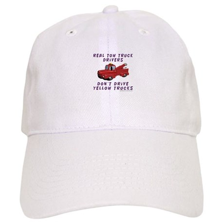 Red Tow Truck Gifts Cap
