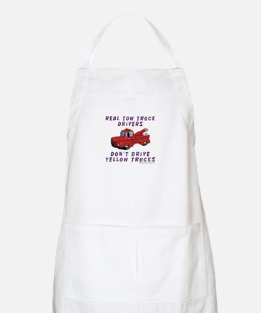 Red Tow Truck Gifts BBQ Apron