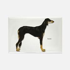 Saluki Dog Rectangle Magnet (10 pack)