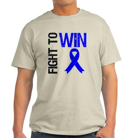 FightToWin Colon Cancer Light T-Shirt