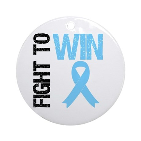 FightToWin Prostate Cancer Ornament (Round)