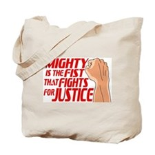 Mighty Fist Tote Bag