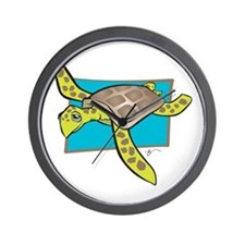Sea Turtle Collection Wall Clock