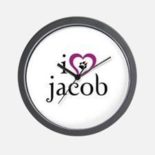 twilight - jacob Wall Clock