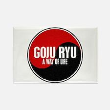 GOJU RYU A Way Of Life Yin Yang Rectangle Magnet