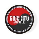 GOJU RYU A Way Of Life Yin Yang Wall Clock